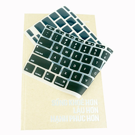 Lót bàn phím in chữ cho Macbook Alphabet Silicone Skin Keyboard - Hàng Chính Hãng 3