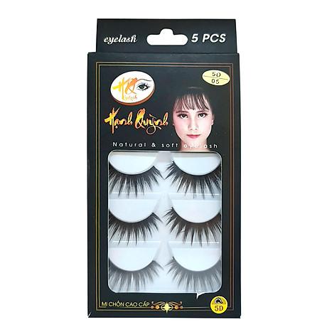 5 cặp lông mi giả dày và dài Natural & Soft Eyelash (số 05) 1