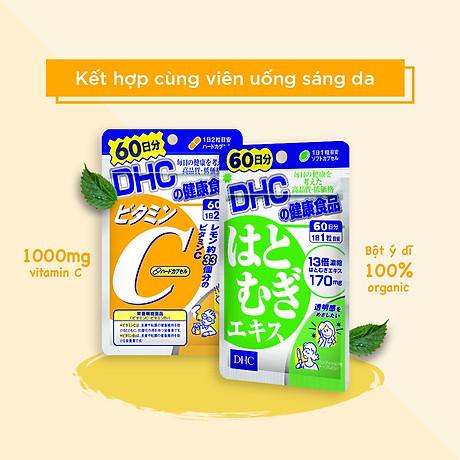 Combo SÁNG DA - MỜ THÂM DHC Nhật Bản gồm viên uống vitamin C và viên uống trắng da 30 ngày JN-DHC-CB1 2