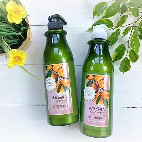 Dầu gội đầu Confume Argan Oil Hair tinh chất thảo dược Hàn Quốc 750ml + Móc khóa 6