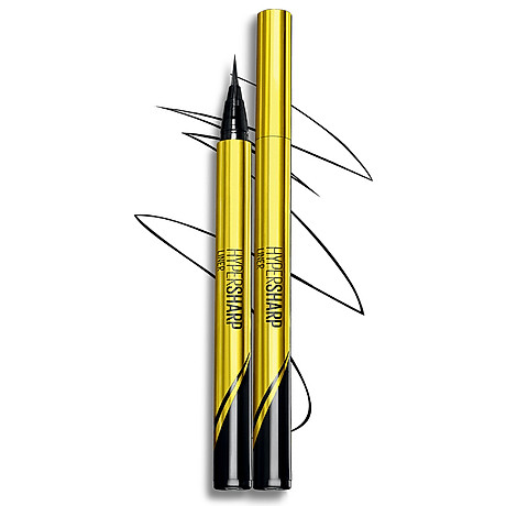 Bút Kẻ Mắt Nước Siêu Sắc Mảnh Không Lem Không Trôi Maybelline New York HyperSharp Liner Đen 0.5g 1