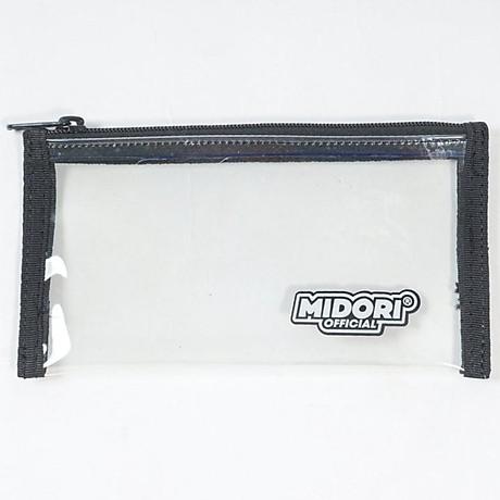 Ví Nhựa Mini Trong Suốt đựng Thẻ, Giấy tờ đa năng - Midori Workshop 3