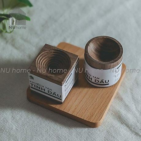 Khếch tán tinh dầu bằng gỗ - Kono, được thiết kế đơn giản với nhiều kiểu dáng đẹp mắt và sang trọng 4