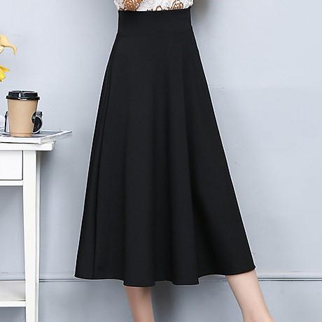 Váy, chân váy xòe dáng dài 1