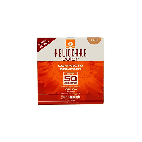 Phấn nền chống nắng Heliocare Color Compacto Compact SPF 50 - Light (Bill Anh) 1