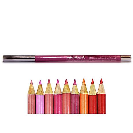 Chì Kẻ Môi Quyến Rũ Mik Vonk Professional Lipliner Pencil Hàn Quốc 05 Màu hồng tặng kèm móc khoá - 1 cây 5