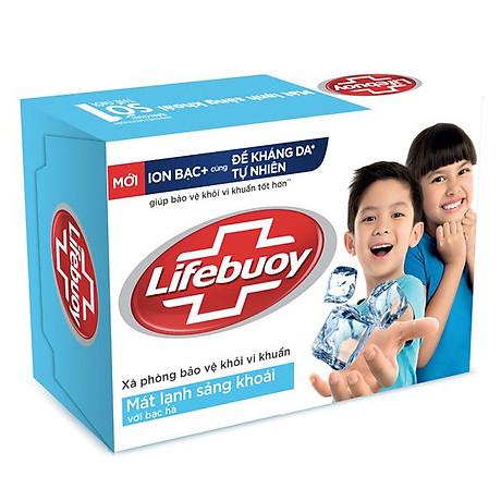 Xà Bông Cục Diệt Khuẩn Lifebuoy Mát Lạnh Sảng Khoái 21126120 (90g) 1