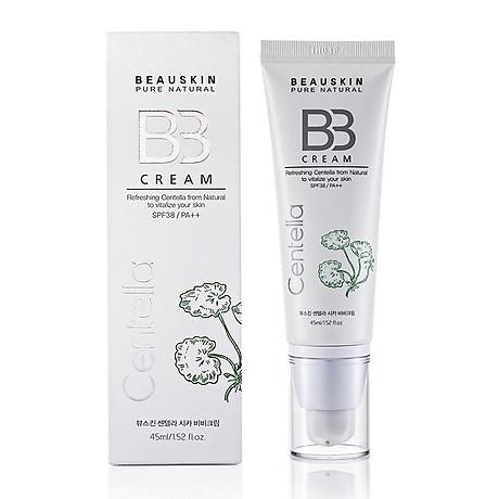 Kem nền kiểm soát dầu Beauskin Centella Cica BB Cream Hàn Quốc 45ml + Móc khóa 2