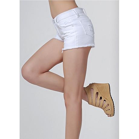 Quần short jean nữ vô cùng cá tính 138 3