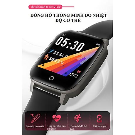 Đồng hồ theo dõi sức khỏe đa năng T_1_Q - Đồng hồ thông minh 3