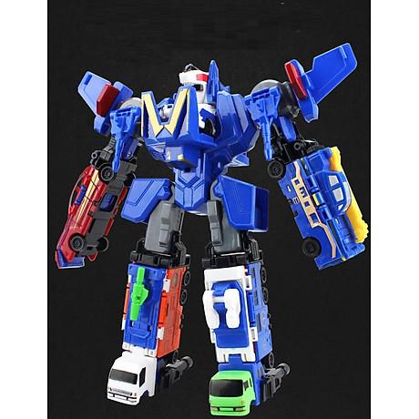 Bộ đồ chơi Robot lắp ghép biến hình cho bé yêu 6