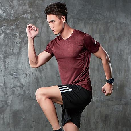 Bộ quần áo thể thao nam co giãn 4 chiều phiên bản Hàn Quốc mã QA.H-193 5