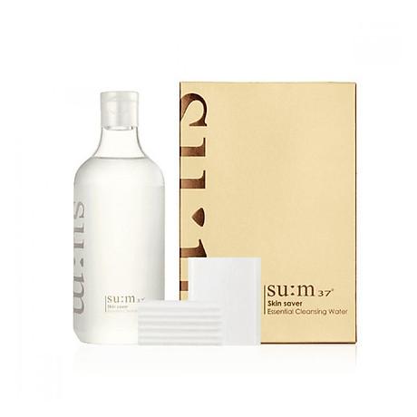 Tẩy Trang Dạng Nước 3 Trong 1 Sum37 Skin Saver Essential Pure Cleansing Water 400ml 1