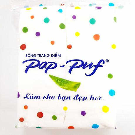 Bông Trang Điểm Pop - Puf 100 Miếng (Bao Bì Mới) 1