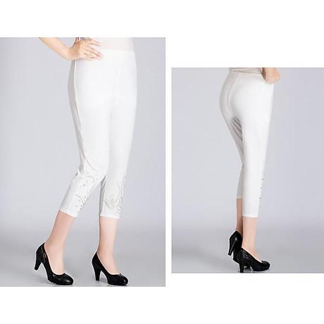 Quần legging nữ co giãn đính cườm Haint Boutique lg05 3