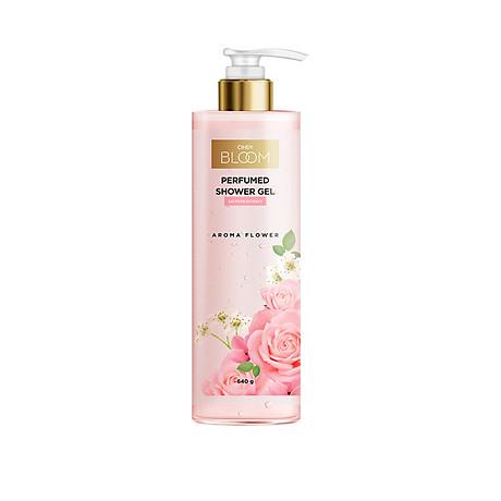 Sữa Tắm Nước Hoa Cindy Bloom Aroma Flower - Ngọt Ngào 640g 1