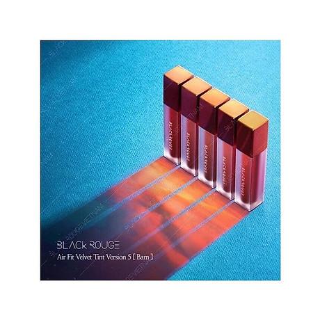 Son Kem Lì Black Rouge Air Fit Velvet Tint Ver5 BAM 3