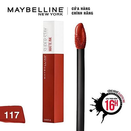 Son Kem Lì Maybelline Super Stay Matte Ink 5ml 4