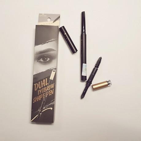 Chì Kẻ Mày Định Hình Đa Năng Vacosi Dual Eyebrow Shape Pen 5
