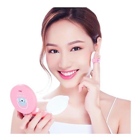 Phấn nước mỏng mịn Mira Cushion Air CC Cream Hàn Quốc 15g tặng kèm móc khoá 8