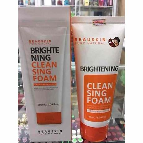 Sữa rửa mặt Beauskin Brightening Cleansing Foam Hàn Quốc 180ml Kèm móc khoá 7