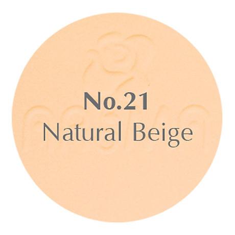 Phấn phủ dạng nén siêu mịn Aroma Two Way Cake Hàn Quốc 14g No.21 Da tự nhiên tặng kem móc khoá 2