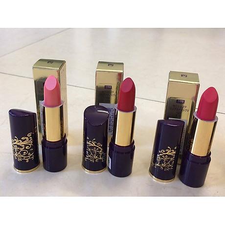 Son thỏi mịn môi lâu phai Naris Ceniciente Lipstick Nhật Bản 3g ( 100 Hồng tươi) + Móc khóa 4