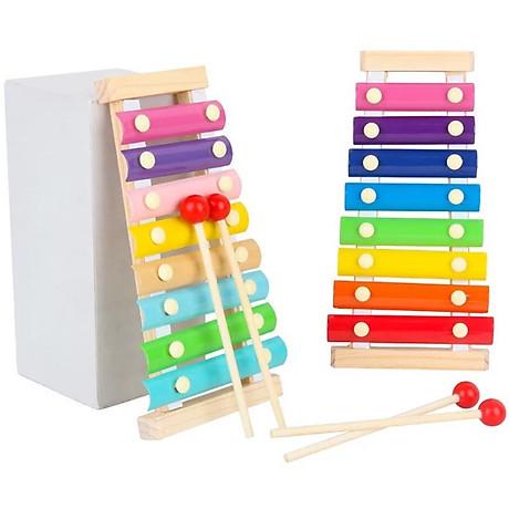 Combo 6 món đồ chơi gỗ an toàn cho bé- phát triển trí tuệ - Tă ng ke m theo bô đô chơi đâm ha i tă c cho be 2
