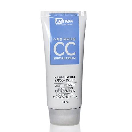 Kem nền trắng da chống nắng Special CC Cream SPF50 PA+++ Hàn Quốc 50ml 2