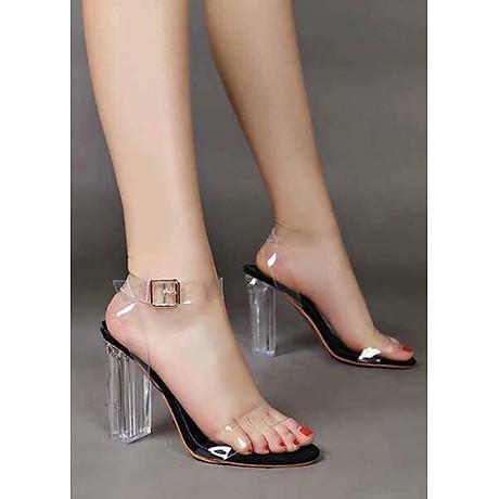 Giày sandal quai trong - P04 1