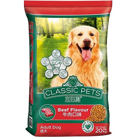 Thức ăn khô cho chó trưởng thành Classic Pets vị thịt bò 4