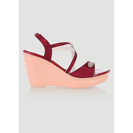 Giày nữ Huy Hoàng màu đỏ HT7065 2