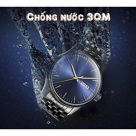 Đồng Hồ Nam Chạy 3 Kim - Hiển Thị Lịch Thời Thượng 2