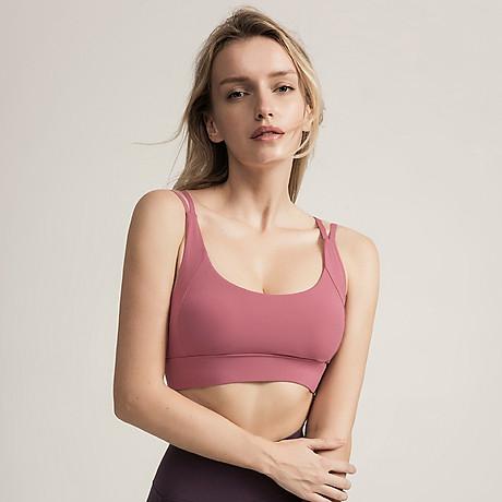 Áo Bra thể thao nữ, áo tập Gym Yoga mềm mịn, có đệm, kiểu áo lót mỏng mã WX-042 1