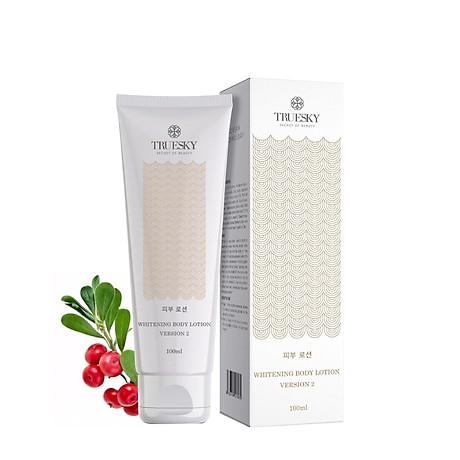 Kem dưỡng trắng da toàn thân Truesky Version 2 dạng lotion thẩm thấu và dưỡng trắng nhanh 100ml - Whitening Body Lotion 1