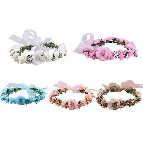 Băng đô đội đầu hình bông hoa cho bạn gái chụp kỷ yếu , trang điểm cô dâu Beety-919 6
