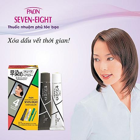 Nhuộm phủ bạc SEVEN EIGHT Hair Color (40g + 40g) Nhật Bản 3