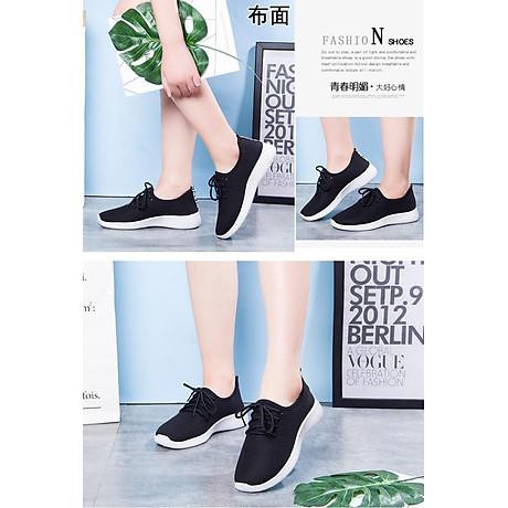 Giày độn thể thao nữ buộc dây full size full box size chuẩn kèm ảnh thật size 35 đến 39 V127 4