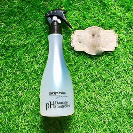 Xịt dưỡng Sophia Platium tóc cân bằng độ PH Damage Controller 300ml tặng kèm móc khoá 4