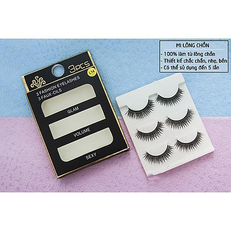 Lông mi chồn 3 Fashion Eyelashes 3 Faux (Dày mi L8) 7