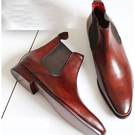 Giày chelsea boot VH48 -nâu 1