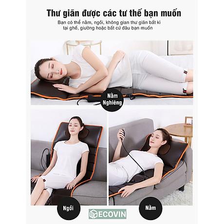 Nệm Massage ,Đệm massage Toàn Thân.Giúp Giảm Căng Thẳng Mệt Mỏi Trên Khắp Cơ Thể 5