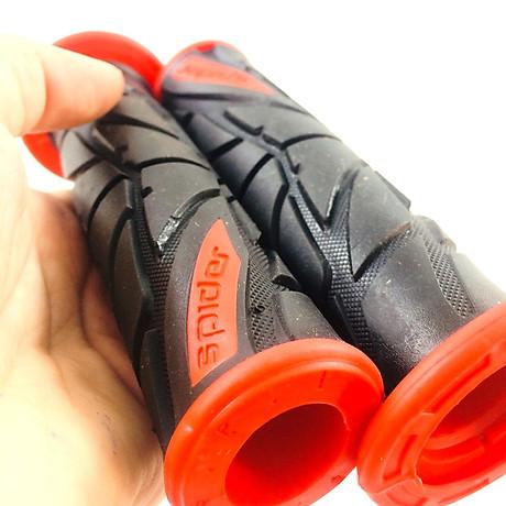 Bộ bao tay Spider Gel dành cho xe máy ( đỏ cam ) 2
