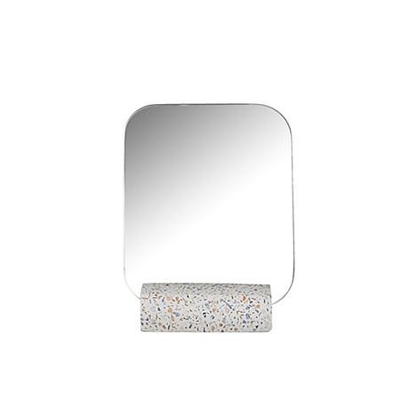 Gương để bàn Monote Terazo kèm đế giữ gương màu đá cao cấp 2