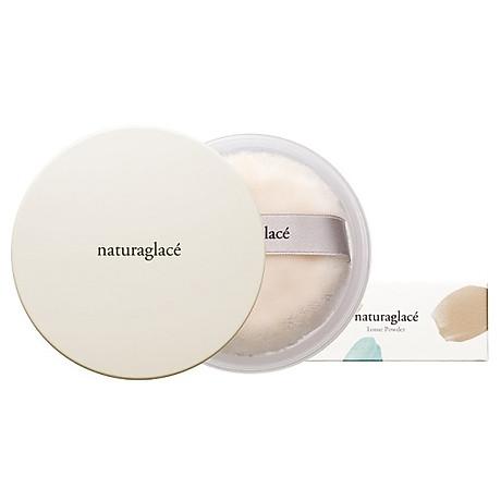 Phấn phủ hữu cơ chống nắng dạng bột - naturaglacé LOOSE POWDER 4