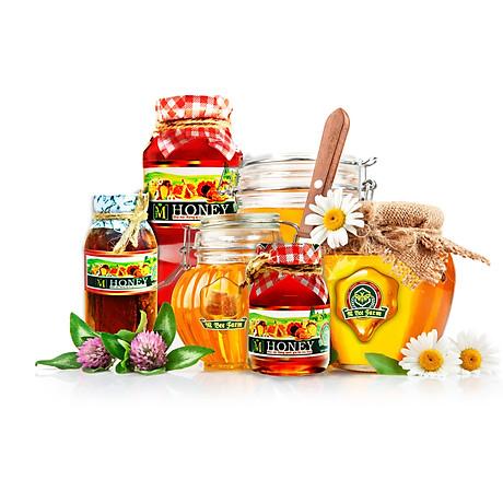 M Honey - Mật ong ngâm Gừng huyết - Hỗ trợ phòng chống ung thư - 100ml 3