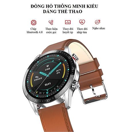 Đồng Hồ Thông Minh Theo Dõi Vận Động Theo Dõi Sức Khỏe L.13 - Nghe gọi cảm ứng đa điểm - Đồng hồ thông minh 2