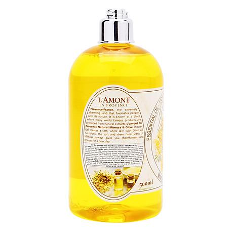 Sữa Tắm L amont En Provence Mimosa Shower Gel - Hương hoa Mimosa 500ml 2