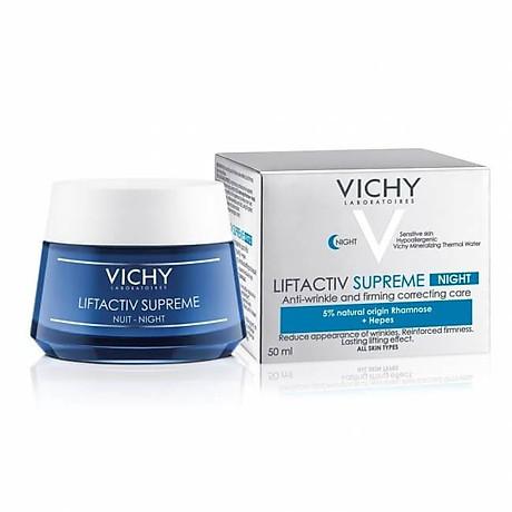 Vichy Kem Dưỡng Chống Nhăn Săn Chắc Da Ban Đêm Liftactiv Ds Night Cream 50ml 1
