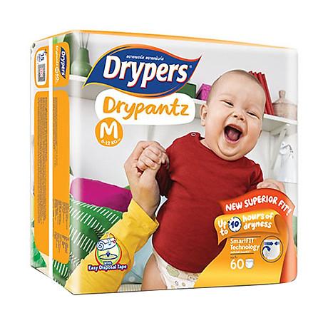 Tã Quần Drypers Drypantz Cực Đại M60 (60 Miếng) 2